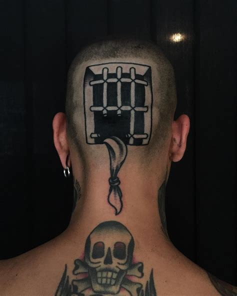 back of head tattoo warrior best design ideas