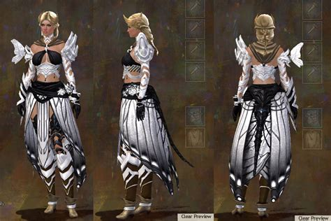 Gw Set For gw2 carapace and luminescent armor sets dulfy