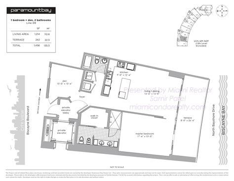 paramount floor plan paramount bay condos 2020 n bayshore drive miami fl 33137