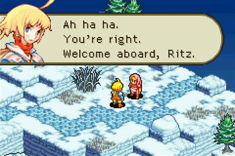 Tactics Ritz And Shara Iphone All Hp tactics advance part 43 return to the future once again with your