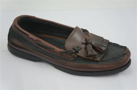 boat shoes with tassels sperry top sider tremont kiltie 0717132 tassel black