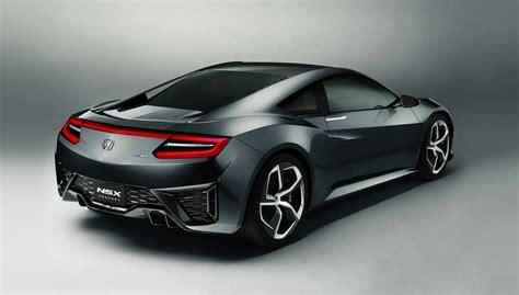 honda supercar honda nsx second gen hybrid supercar confirmed for