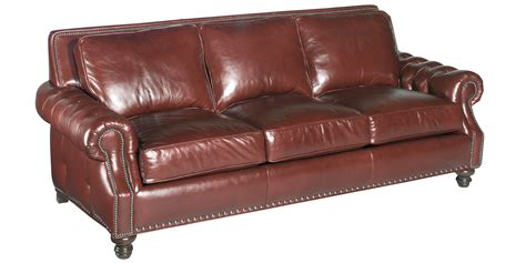 8 Way Leather Sofa by Leather Grand Scale Button Tufted Pillow Back Sofas Club