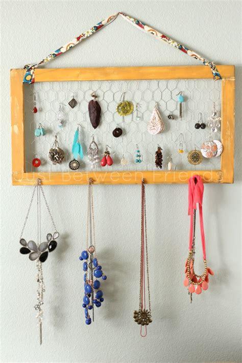diy home organisation ideen diy jewelry organization just between friends