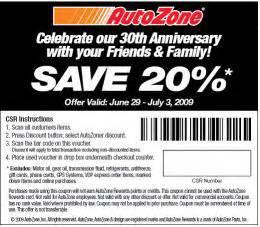 Automotive Tool Zone Discount Code Free Printable Autozone Coupon September 2017