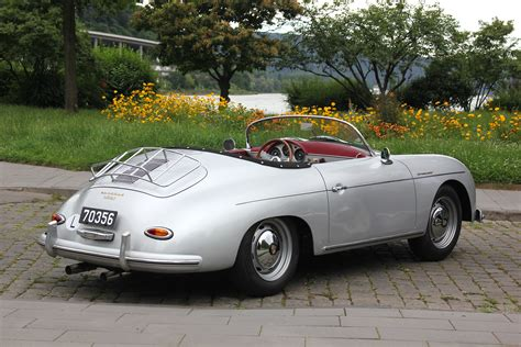 Porsche 356 Super Speedster file porsche 356 a speedster 1600 super bj 1956 heck