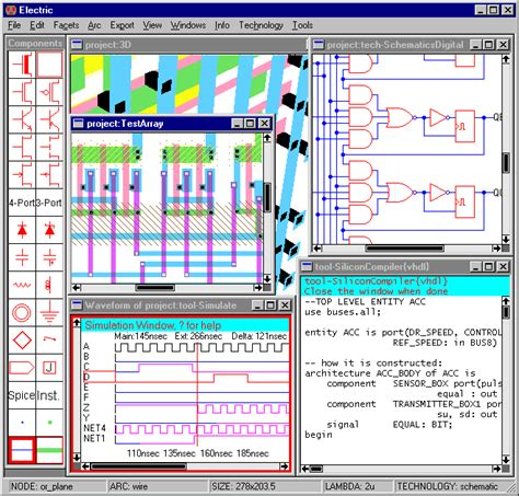 software for electronic circuit design electrical