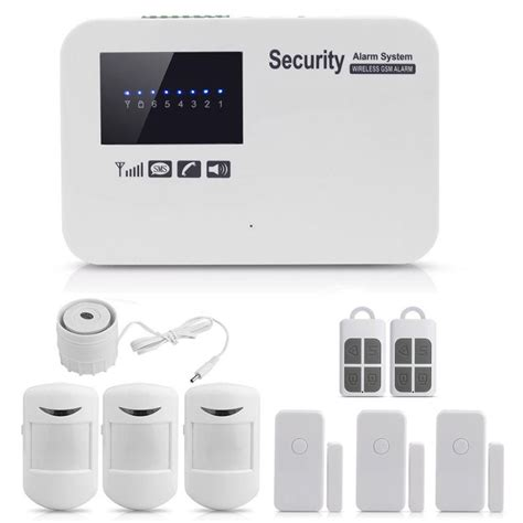 app remote wireless gsm alarm home house security