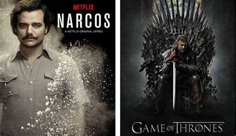 will of thrones be on netflix netflix claims narcos viewers outnumber of thrones