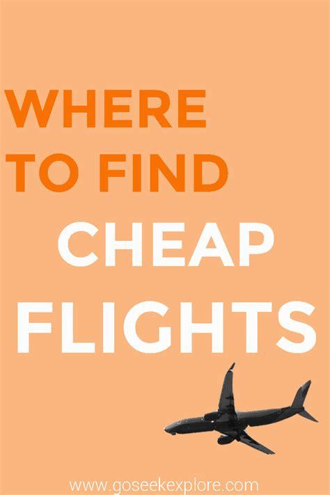find cheap flights  seek explore