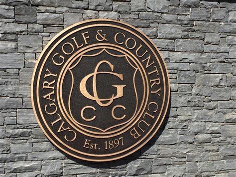 chions golf club plaques diversity in plaque design with inlaid and recessed