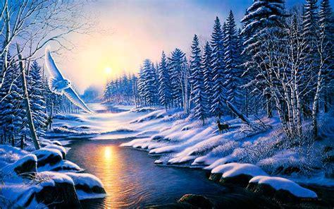imagenes de un invierno hermosos paisajes de invierno para usar como portada de