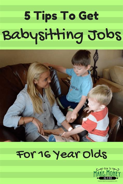 How To Make Money For 12 Year Olds Online - easy babysitting jobs for 16 year olds 5 quick tips