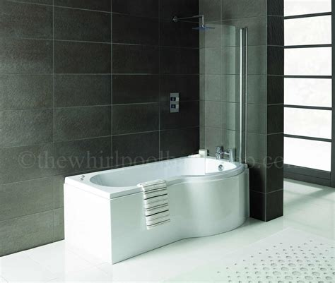 shower bath whirlpool rh oceania 12 jet p shape whirlpool shower bath
