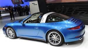 Porsche Targa Top Porsche 911 Tops Itself With New Generation Targa