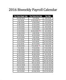 Bi Weekly Pay Calendar Sle Payroll Calendar Template 9 Free Documents