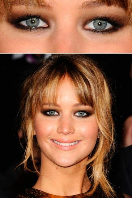 jennifer lawrence makeup tutorial jennifer lawrence makeup tutorial and tips for hooded eyes
