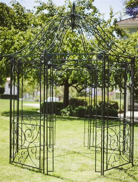 wrought iron gazebo 17 best images about rhapsody rentals arches pergola s