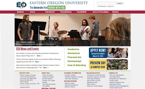 Eastern Oregon Mba Program by The 20 Most Affordable Colleges Affordable Schools
