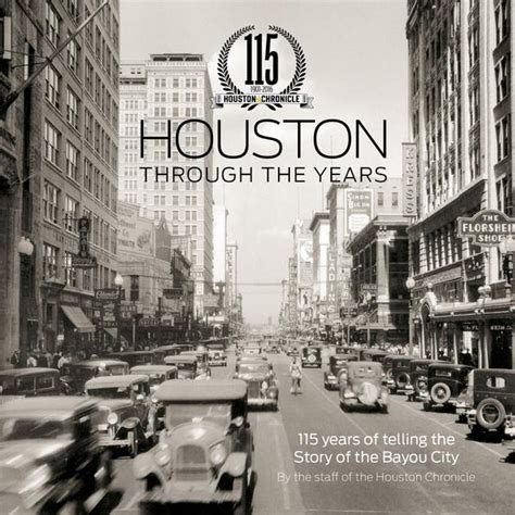 bayou st a brief history books houston through the years 115 years of the bayou history