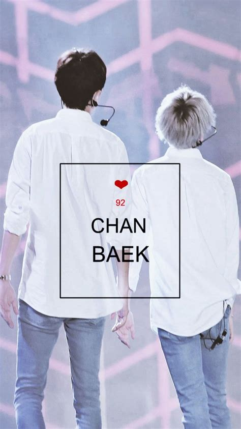 chanbaek wallpaper chanbaek exo  baekhyun