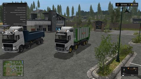 Take Out Ls Bring Tasty Lighting Solution by Volvo Fh540 V1 0 Ls2017 Farming Simulator 17 2017 Mod