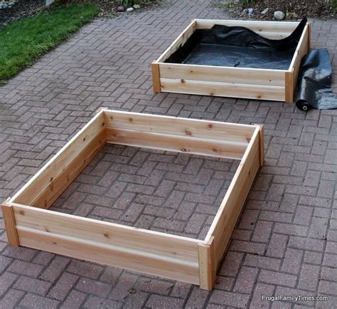 How To Build Raised Garden Bed Boxes Growing Vegetables How To Make A Garden Bed For Vegetables