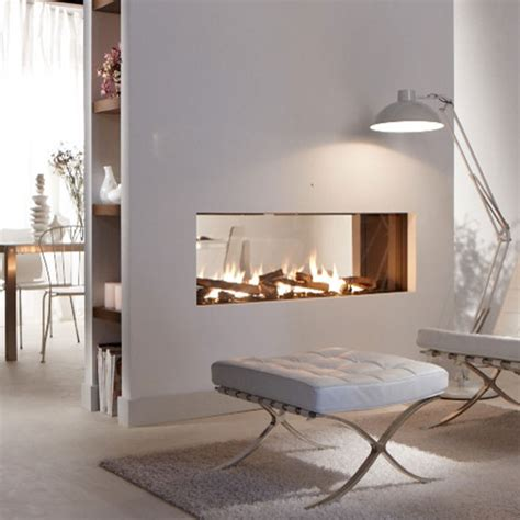 lineafire fireplaces horizontal 240 tunnel wood and gas