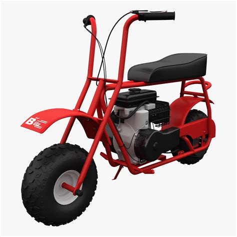 doodlebug mini bike used baja doodle bug mini bike 97cc collection of 3d models by