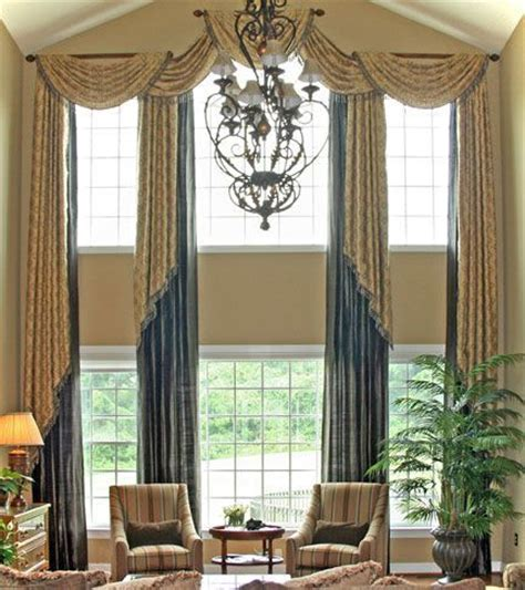Window Scarves For Large Windows Inspiration Window Treatment Ideas For Large Windows Inspiration Window Treatments Ideas For Large Windows