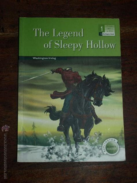 libro the legend of sleepy the legend of sleepy hollow washington irving comprar en todocoleccion 99069095