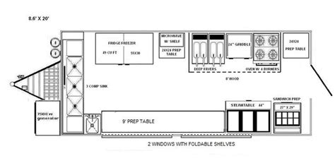 Food Truck Floor Plan 25 Best Ideas About Food Truck Interior On Pinterest