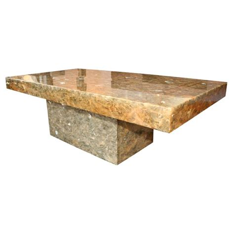 Resin Coffee Table Resin Coffee Table At 1stdibs