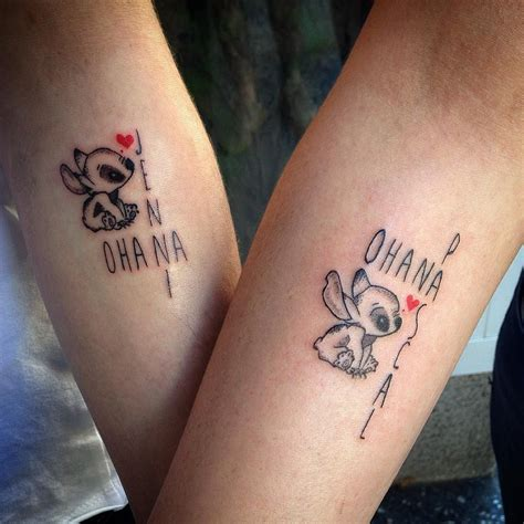 t tattoos designs 30 delightful ohana designs no one gets left