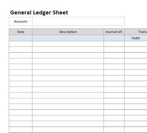 general journal template 5 general ledger templates excel word pdf microsoft
