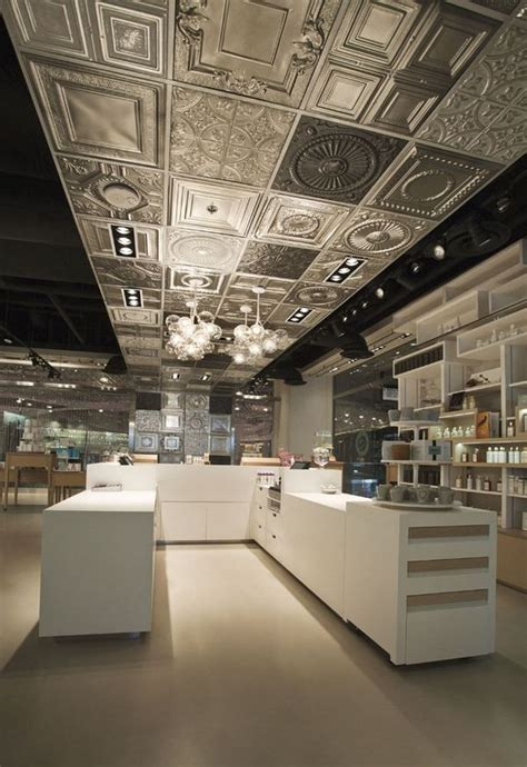 Tin Ceiling Designs by 25 Best Ideas About Metal Ceiling On Kitchen