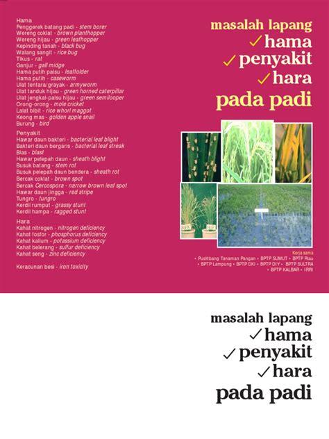 Penyakit Tanaman Pangan Dan Pembasminya By Rismunandar hama dan penyakit tanaman padi