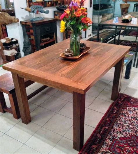 5 X 3 Dining Table Teak Dining Table 3 Foot X 5 Foot With 4 Legsimpact Imports