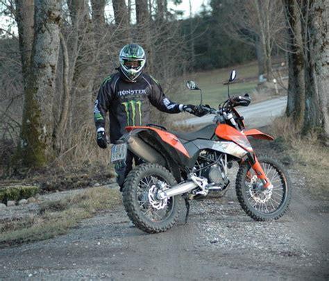 Ktm Motorräder Enduro ktm 690 enduro test und fahrbericht