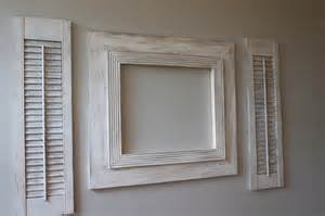 16x20 distressed open back picture frame by deltagirlframes