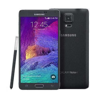 Samsung Galaxy Note 4 Jelly Hitam Galaxy Note Diskon jual samsung galaxy note 4 smartphone hitam harga kualitas terjamin blibli