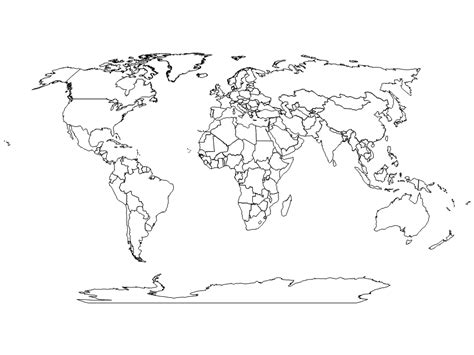 world map image no labels world map no labels timekeeperwatches
