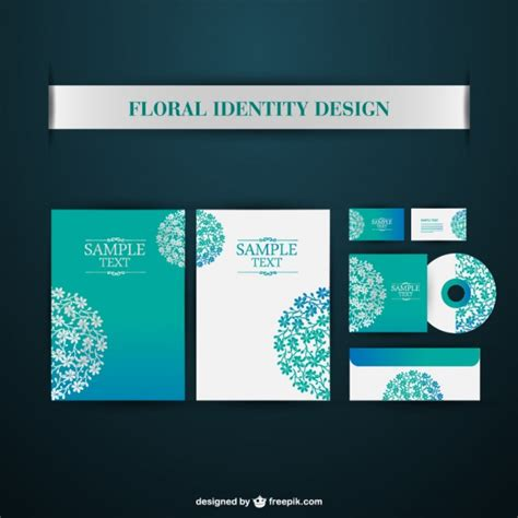 corporate layout free vector corporate branding design vector free download