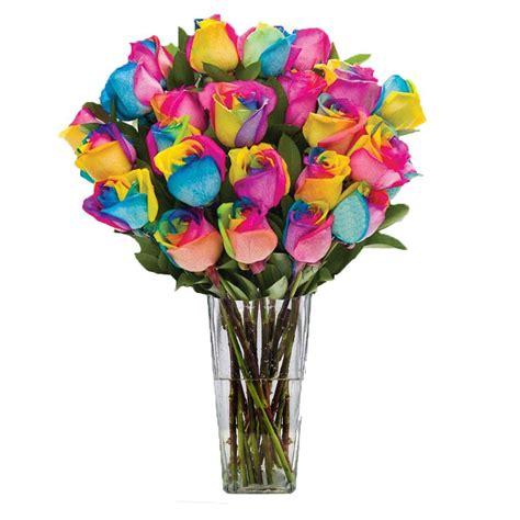 Flowpy Florist Simple 6 Roses Bouquet Multi Colour how to make rainbow bouquet best flowers and 2017