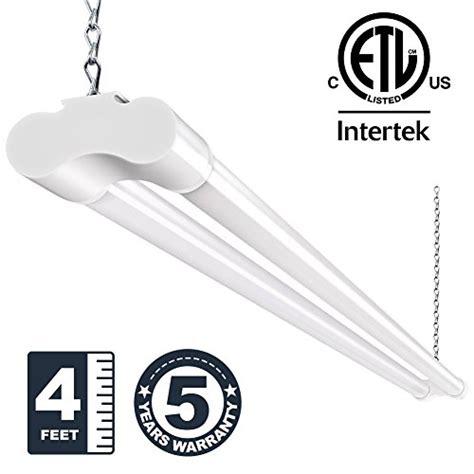 plug in garage light 36w 4ft led utility shop lights for garage bbounder