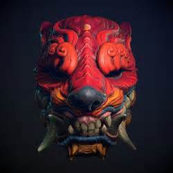 25 beautiful oni mask ideas on pinterest japanese oni