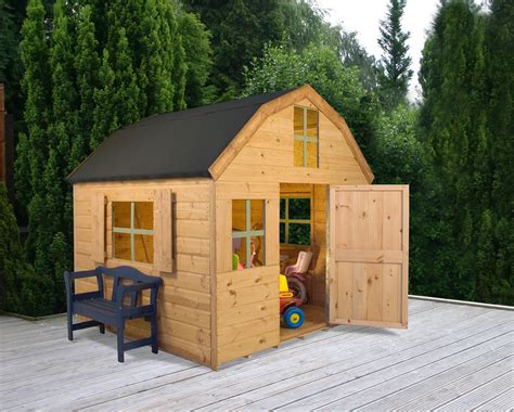 Childrens wooden playhouse dutch style playhouse 6x6