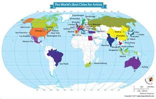 Paris On World Map by Paris Is The Most Attractive City For Artists Our World