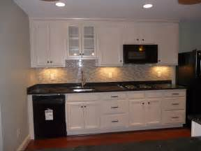 Kitchen Cabinets White Top Black Bottom In Law Suite Basement Kitchen Traditional Kitchen