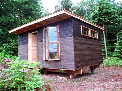 how to build a tiny cabin small build yourself cabin plan easy to build small cabins